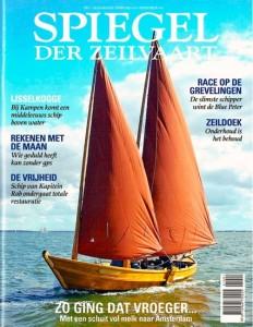 Kaft Spiegel der Zeilvaart nummer 1 van 2016